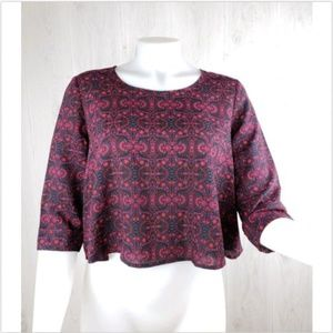 Free People Pins and Needles Crop Top Size XS